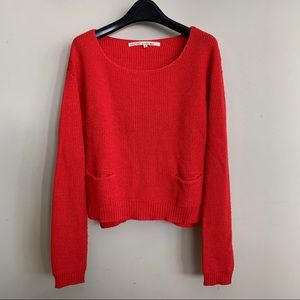 RACHEL Rachel Roy Red Sweater